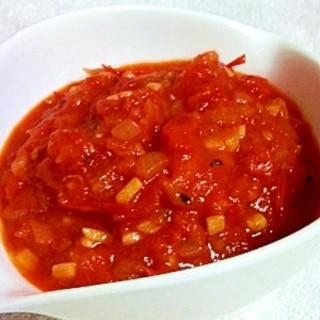 お店の味!簡単☆万能ガーリックトマトソース