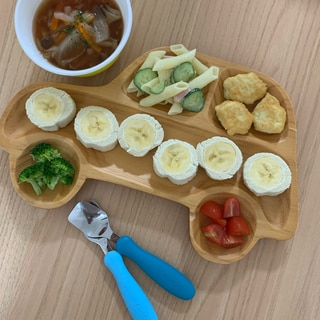 朝食やおやつに☆まるごとバナナロール