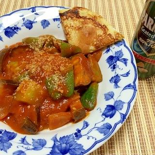 15分◎フライパンで煮込まず!太陽の夏野菜カレー☆