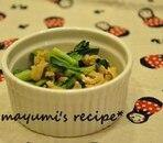 青菜と油揚げのさっと煮