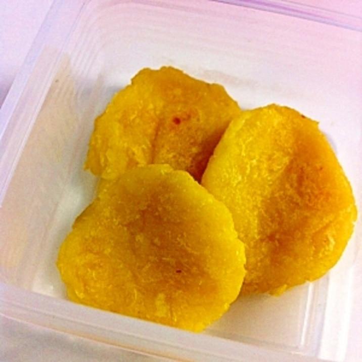 【離乳食中期】かぼちゃと豆腐のお焼き