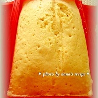 HMとルクエで4分★簡単ふわふわ蒸しパン★