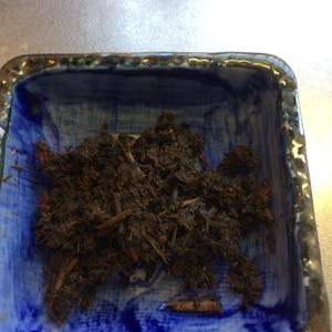 ピリ辛、お茶の葉の佃煮