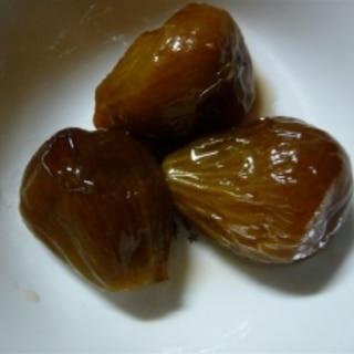無花果の甘露煮