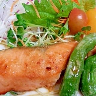 生銀鮭の塩麹漬で作るふっくら柔らかムニエル