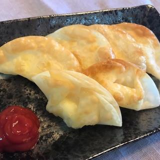 ベビーチーズで!カリカリチーズ餃子