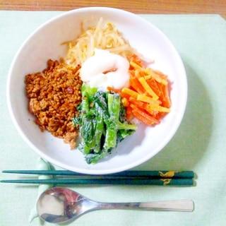 ヨウサマの『タニタ式』ダイエット食 変りビビンバ丼