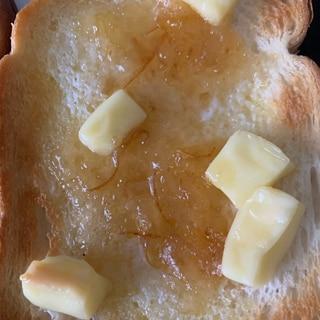 マーマレードチーズトースト