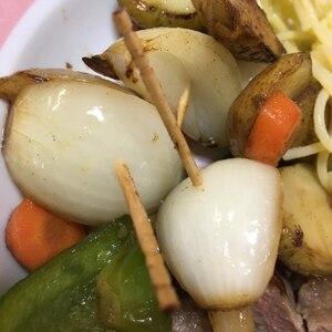 ステーキの付け合せ☆野菜のグリル