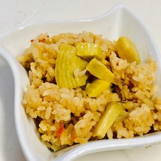炊飯器に入れるだけ★3合炊き筍ご飯