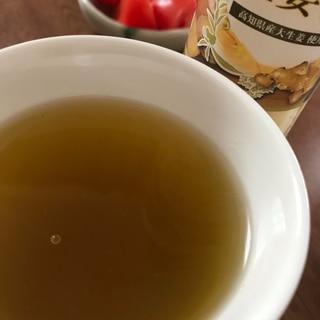 しょうがとはちみつ入り緑茶
