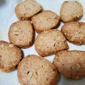 バター不使用 サクッサク!ココナッツオイルクッキー