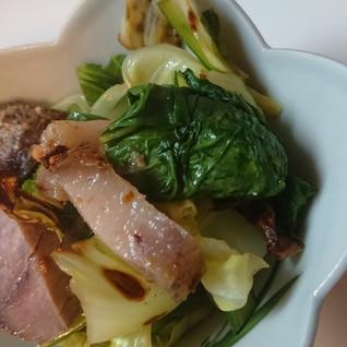 ⭐お弁当おかずに⭐厚切りベーコンと小松菜炒め⭐