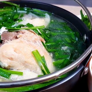 タッカンマリ 韓国の鶏の水炊き タレがおいしい!