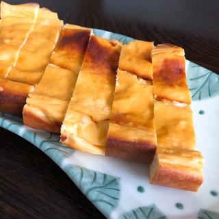簡単、水切りヨーグルトでベイクドチーズケーキ