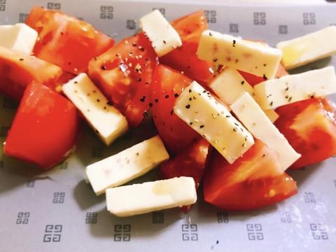 【夫婦のおつまみ】ベビーチーズで作る!カプレーゼ