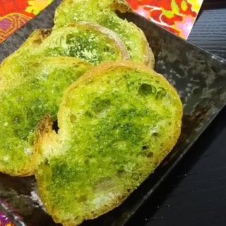 サクサクとまらない☆抹茶ラスク