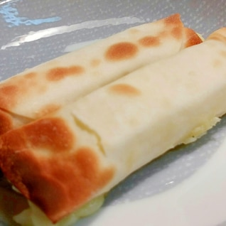 超簡単!餃子の皮でチーズ巻き
