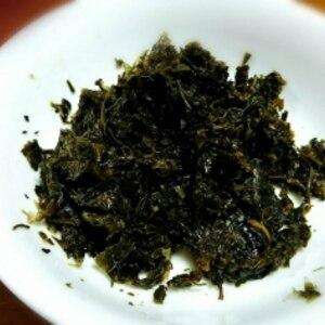 茶殻(茶がら)と海苔の佃煮