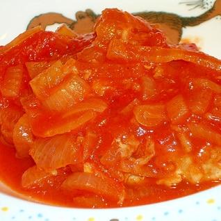 おもてなしにも♪ポークステーキのトマトソース煮