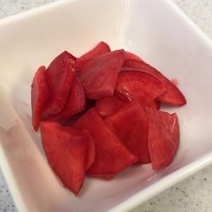 赤カブの酢漬け