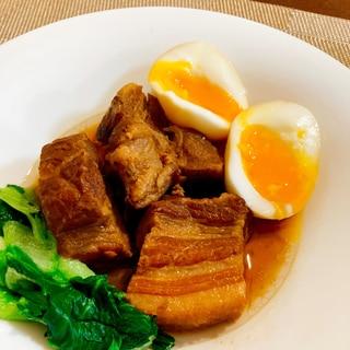 圧力鍋で⭐お箸でほぐれるとろとろ豚角煮