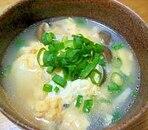 豆腐とたまごの中華スープ