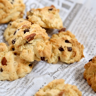 ひとつのボールで混ぜて焼くだけ!簡単ロッククッキー