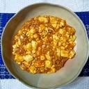 にんにく醤油でマーボー豆腐