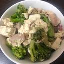 ブロッコリーと豚肉の炒め