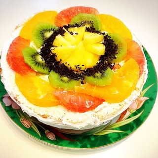 ♡ひな祭りにちなみ~ホットケーキでデコレーション♡