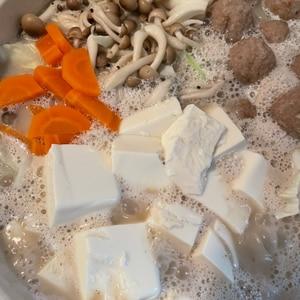 ゴクゴク飲めちゃう手作り、ごま豆乳鍋
