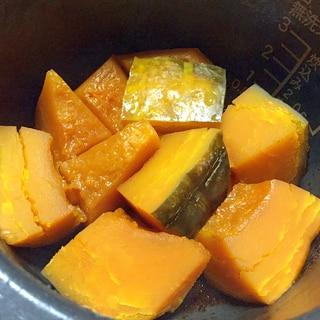 炊飯器で簡単☆かぼちゃの煮物