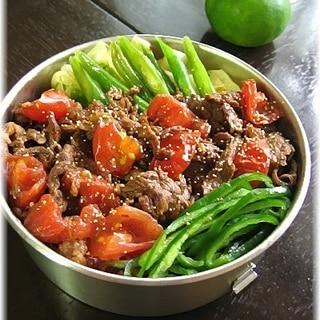 牛肉トマト