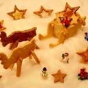 サイズの変わらないクッキー、立体やスタンプに