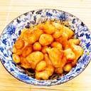 ☺簡単作り置き♪鶏と大豆の味噌炒め☺