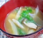 セロリの味噌汁