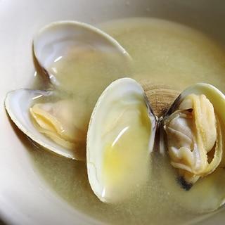 出汁力アップ☆アサリの味噌汁
