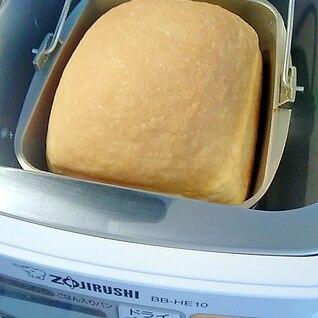 象印ホームベーカリー調整パン 砂糖バター少な目
