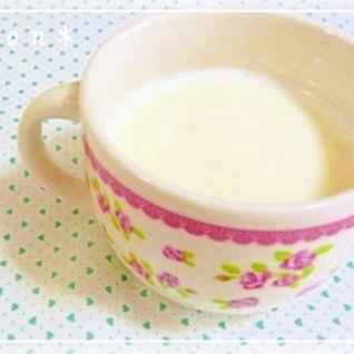 あったか☆クリーミーはちみつミルク