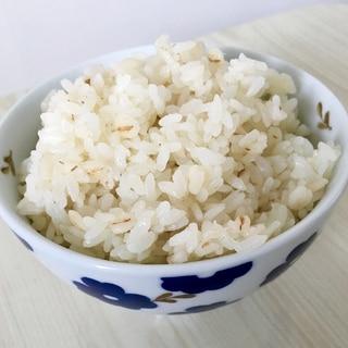圧力鍋 簡単 ふっくら美味しい白ご飯 胚芽米入り