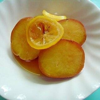 「作り置き」レンジで☆さつまいものレモン煮