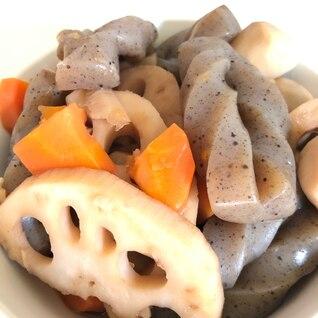 【簡単・スピード】レンコンと里芋の煮物