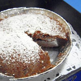 レンジで3分・豆腐のチョコケーキ♪約300kcal