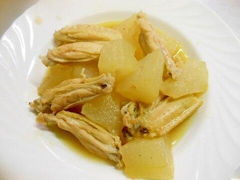 ★冬瓜と鶏手羽中の白だし煮☆