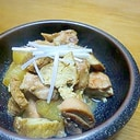 大根と鶏肉の中華風煮込み