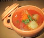 かぶのトマトスープ