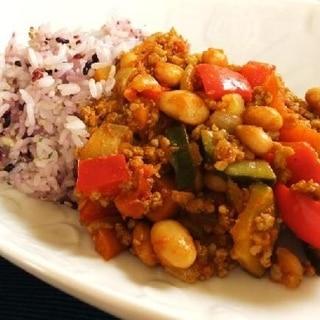 べジ豆キーマカレー