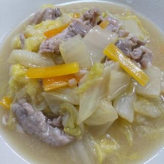 【ホットクック】白菜と豚肉の八宝菜風