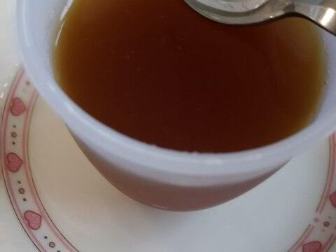 粉寒天で作る(^^)紅茶のゼリー
